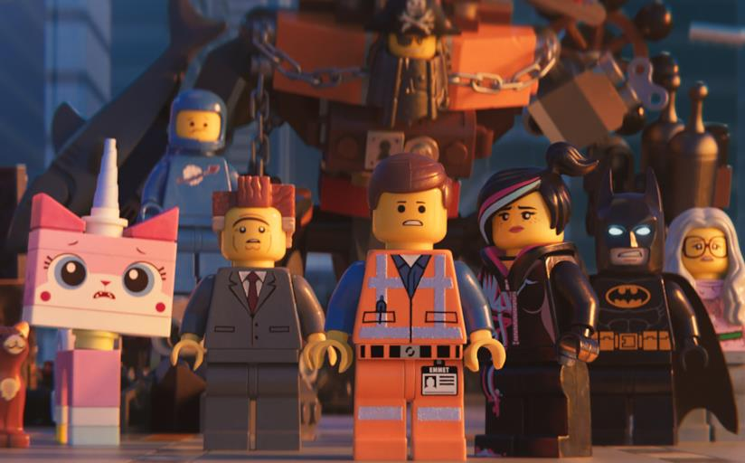 Una scena di The LEGO Movie 2