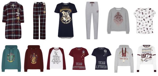 indumenti ispirati al mondo di Harry Potter