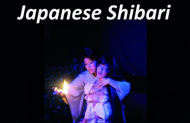 Copertina libro arte dello Shibari