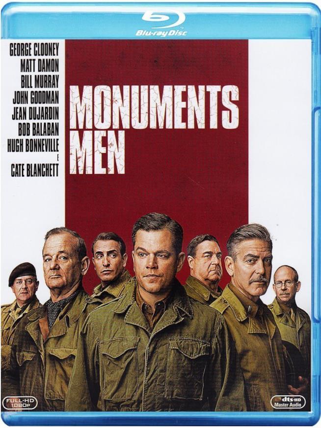 Cofanetto Blu-ray di Monuments Men