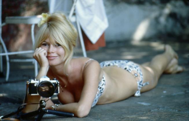 Brigitte Bardot nel fim Viva Maria