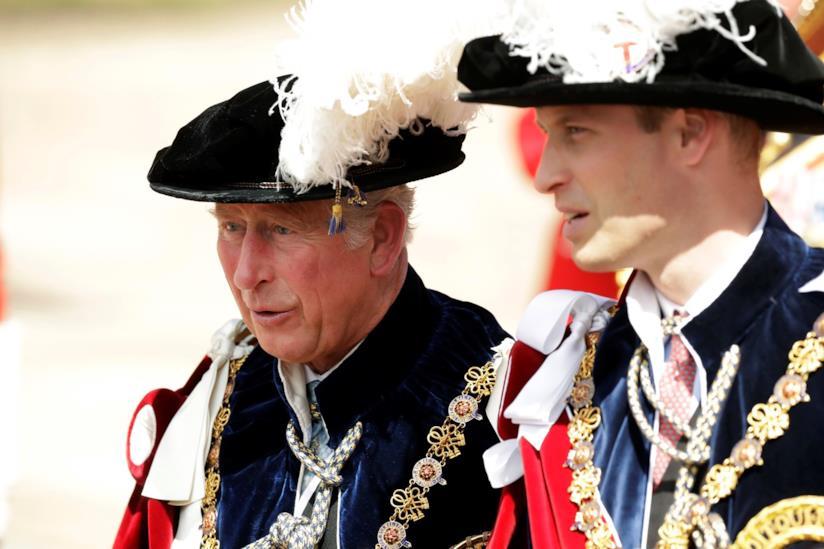 Il Principe Carlo e il Principe William