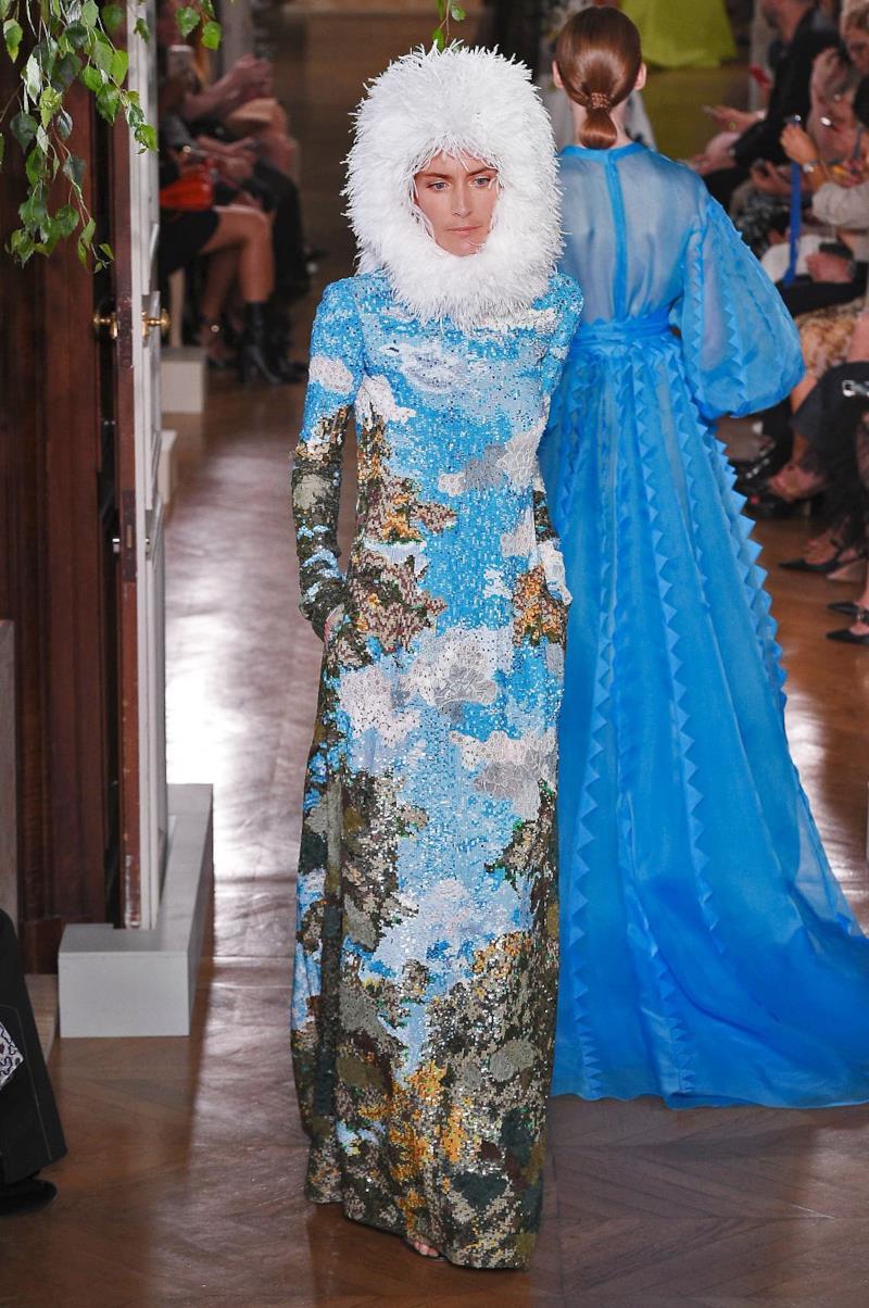 Sfilata VALENTINO Collezione Alta moda Autunno Inverno 19/20 Parigi - ISI_3899