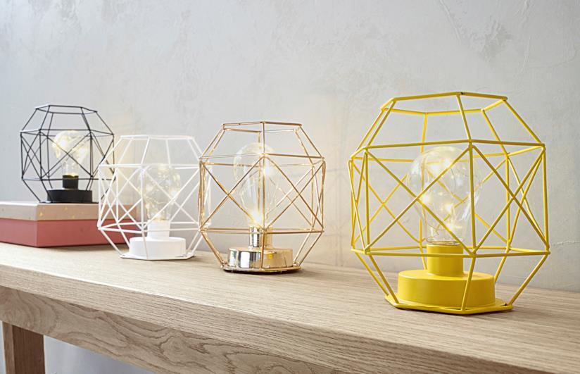 Lampade a forma di gabbia Maisons du Monde