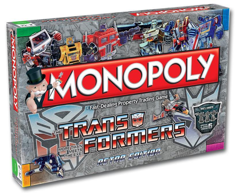 Il monopoli ispirato ai Transformers