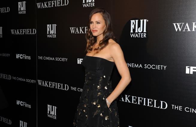 Un'incantevole Jennifer Garner durante un evento di gala