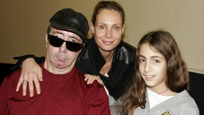 Francesco e Ginevra Nuti e la ex compagna Annamaria Malipiero