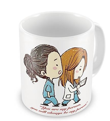 Tazza Grey's Anatomy con Meredith e Cristina