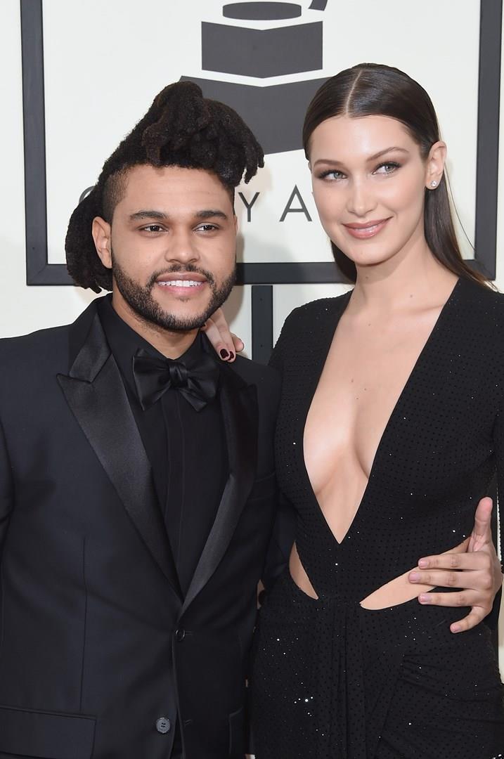 Bella Hadid insieme al compagno The Weeknd