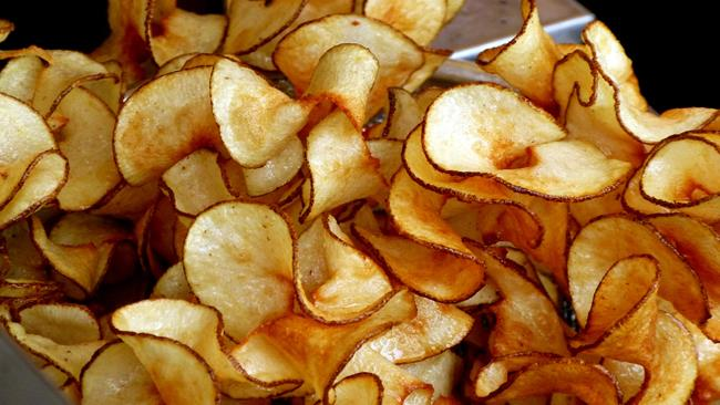 Chips di patate dolci al curry
