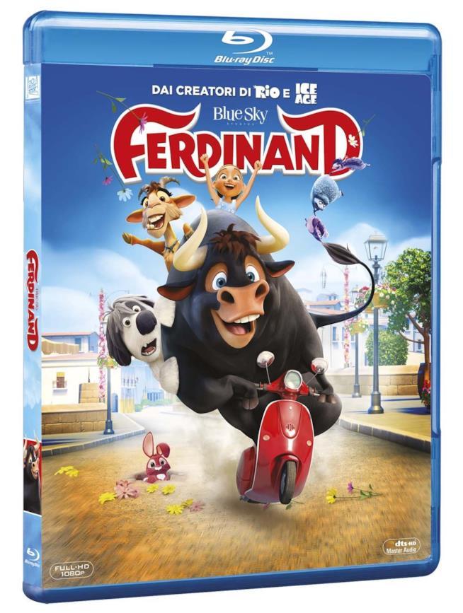Ferdinand in Blu-Ray