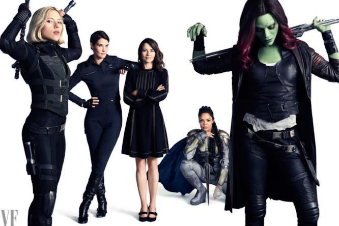 Il gruppo di donne con super poteri e super responsabilità della Marvel