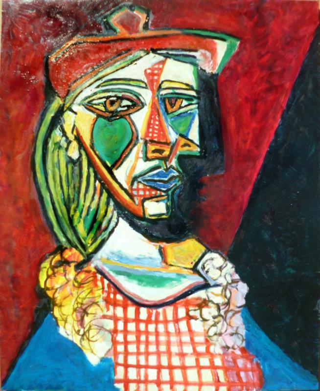 Il quadro Femme au béret