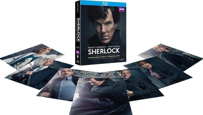 Cofanetto DVD di Sherlock - Stagioni 1-4