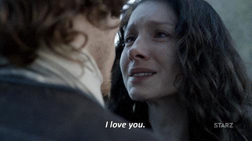 Claire e Jamie si confessano amore reciproco