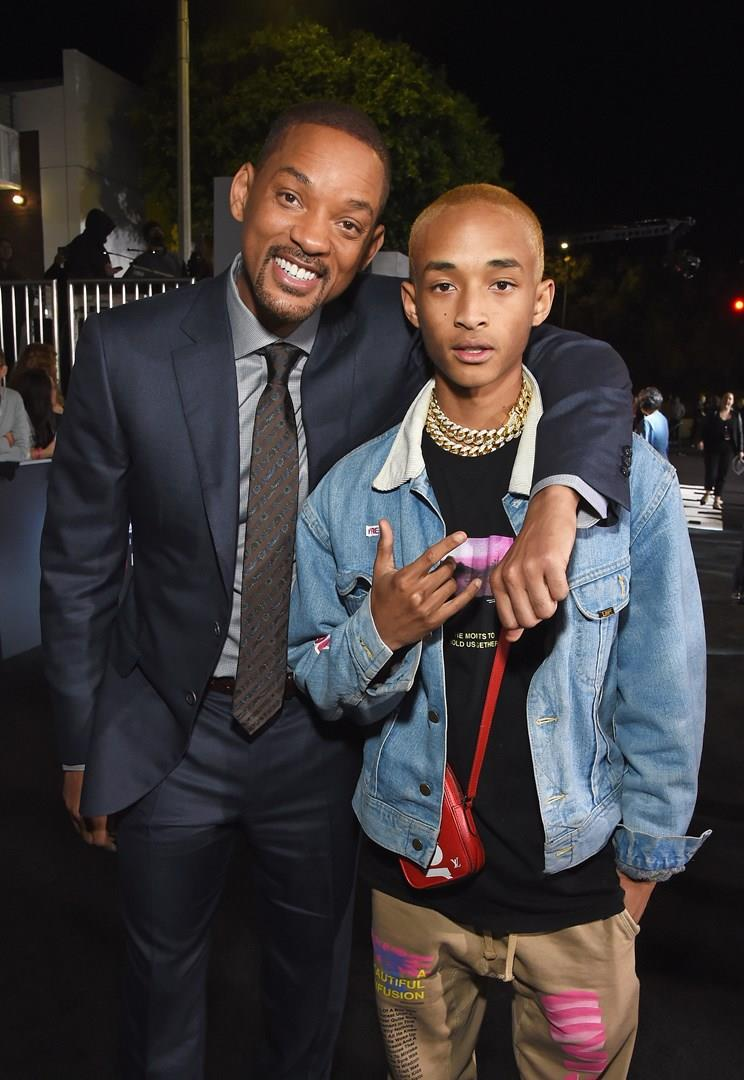 Will e Jaden Smith in una foto insieme