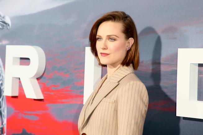L'attrice Evan Rachel Wood