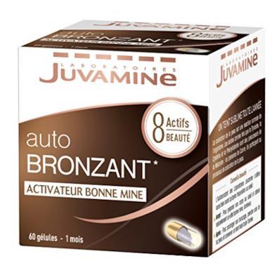 Juvamine Bronzage Sublime Autoabbronzante, 60capsule