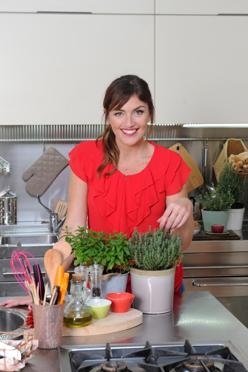 Chiara Maci nella cucina di #vitadafoodblogger