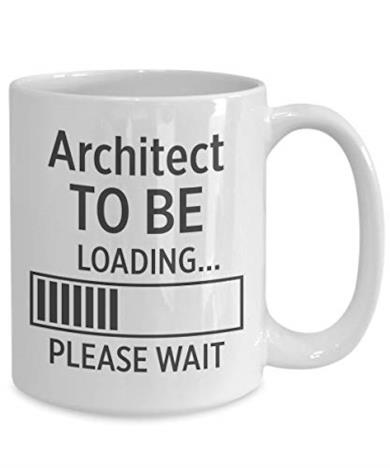 Architetto to be Coffee mug