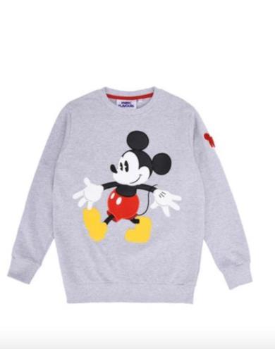 Mickey Mouse Applique Sweatshir