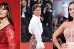 Monica Bellucci, Alessandra Mastronardi e Giulia De Lellis