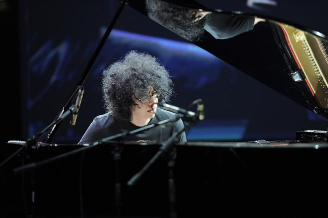 Giovanni Allevi al piano