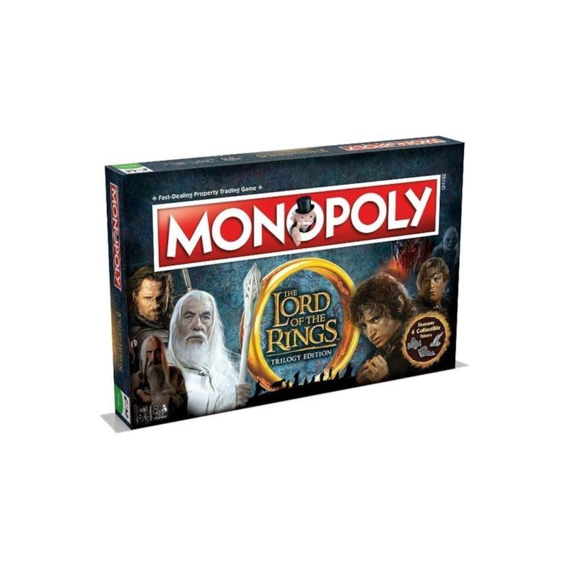 Il monopoli ispirato a Il Signore degli Anelli