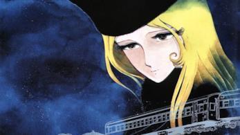 Un'immagine di Maetel la donna misteriosa del manga galaxy Express 999