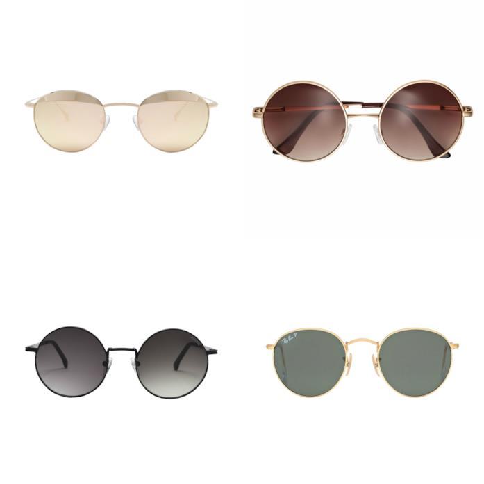 Montatura rotonda per gli occhiali da sole P/E 2018