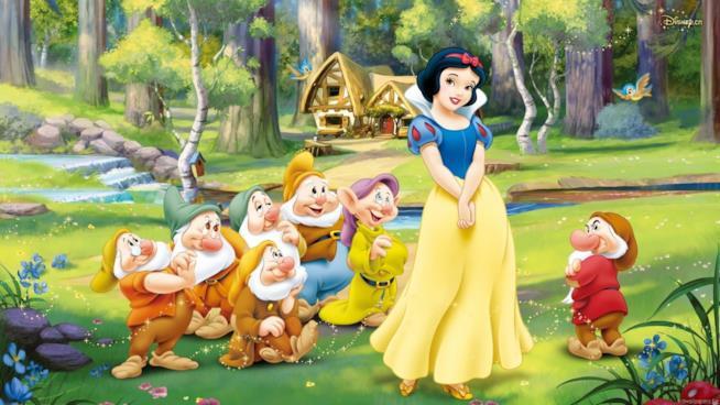 Biancaneve con i sette nani