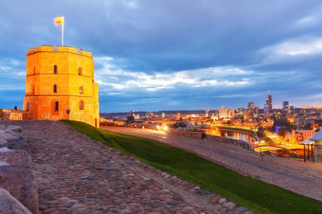 Il simbolo della Lituania: la Torre di Gediminas
