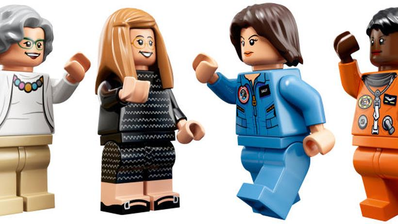 Le figurine LEGO del set Women of NASA