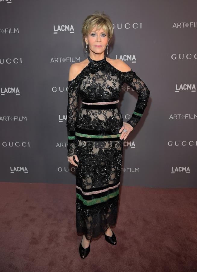 Jane Fonda al Gala LACMA