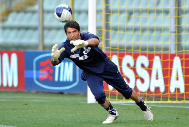 Il portiere Gigi Buffon