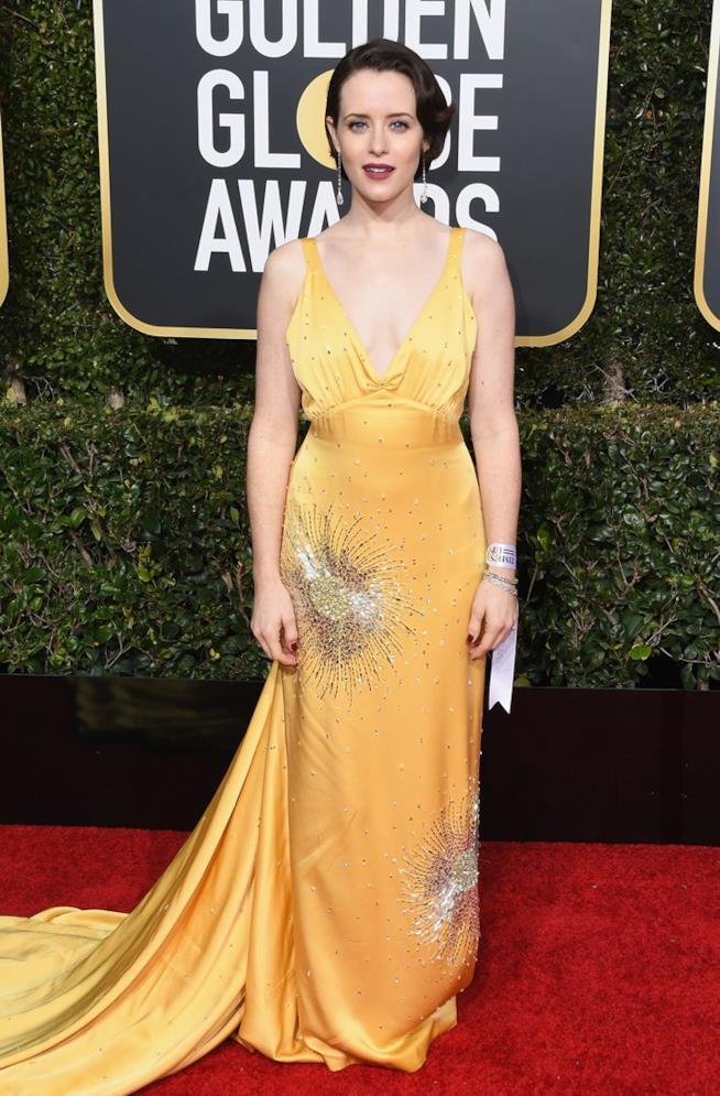 Claire Foy ai Golden Globes