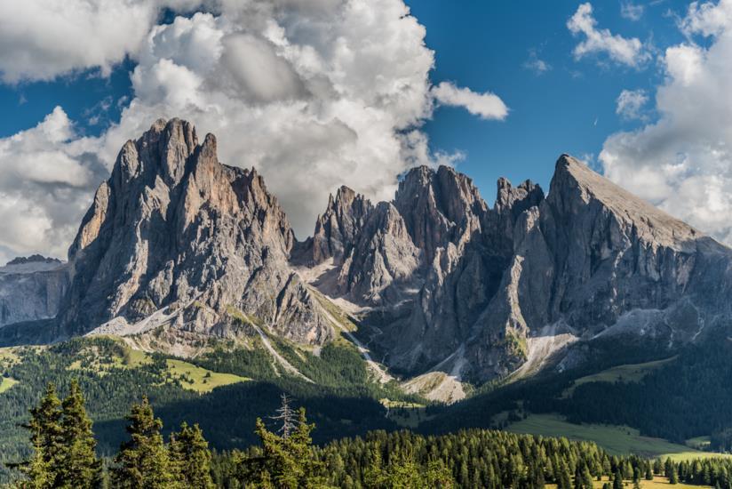 Una vacanza senza auto in Alto Adige, alla scoperta dell'Alpe di Siusi