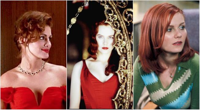 Collage tra Pretty Woman, Moulin Rouge! e Spider-Man