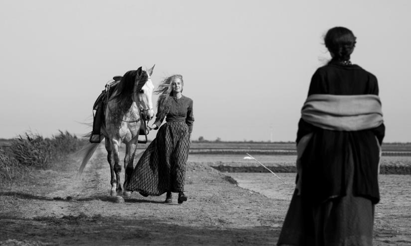 Natalia De Molina in una scena di Elisa & Marcela: