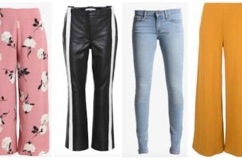 Collage di pantaloni 2018
