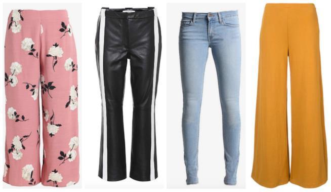 I pantaloni primavera estate 2018  i modelli di tendenza 940f512d3b1