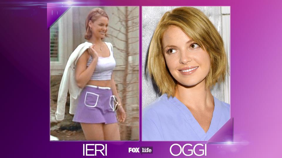 Katherine Heigl: Izzie ha un passato televisivo, in cui è ricordata principalmente per Wish Upon a Star e Roswell.