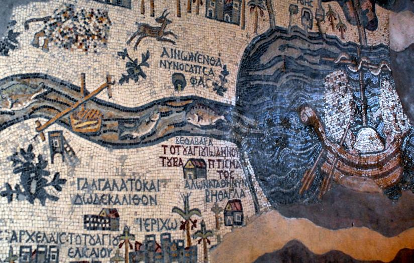 La Mappa di Terrasanta