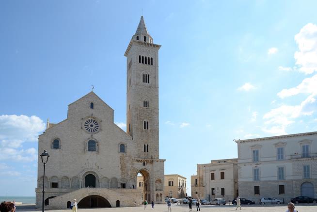 Le forme romaniche della cattedrale di Trani