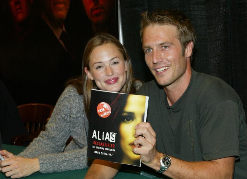 Jennifer Garner e Michael Vartan ai tempi di Alias