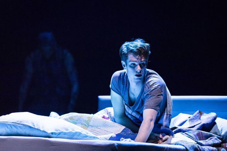 Andrew Garfield sul palco