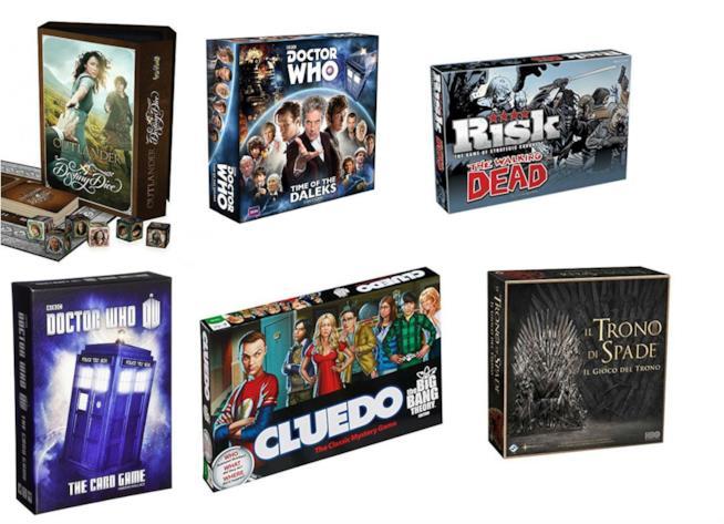 18 giochi di società dedicati a serie televisive internazionali