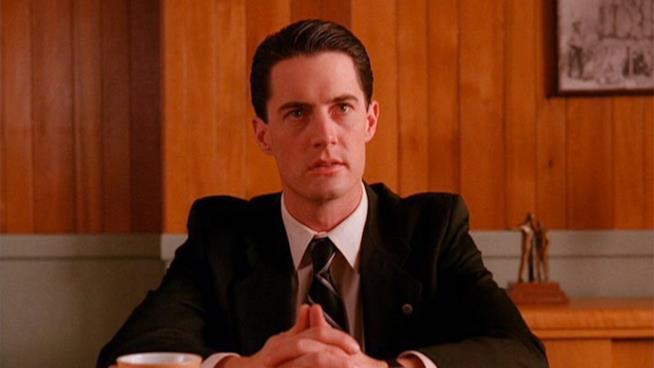 L'agente Cooper della serie TV Twin Peaks