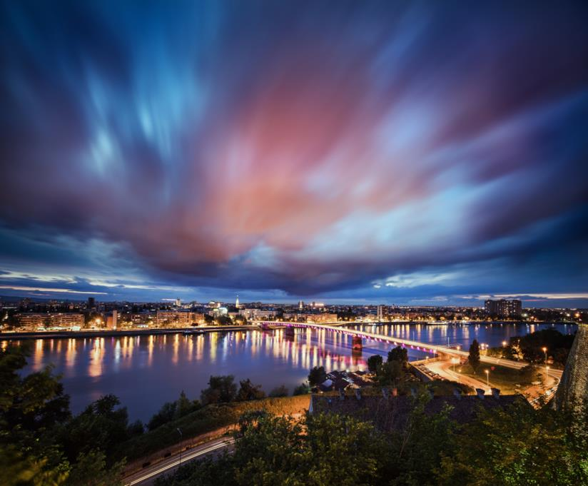 Ponte sul Danubio a Novi Sad