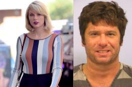 Un primopiano di Taylor Swift ed uno del suo stalker Frank Andrew Hoover